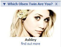 What Olsen Twin Are You Profile Box