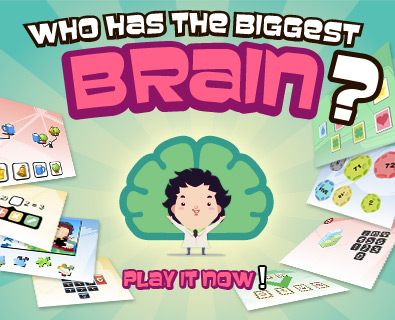 Who Has The Biggest Brain? Facebook Application