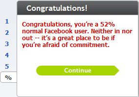 Are You Normal? Facebook User