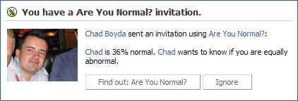 Are You Normal? Invite