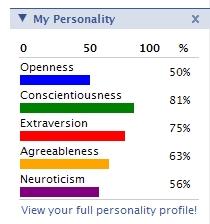 My Personality - Nav